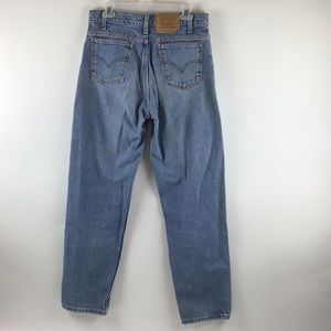 Levi's 550 Orange Tab Relaxed Tapered Jeans 33x32